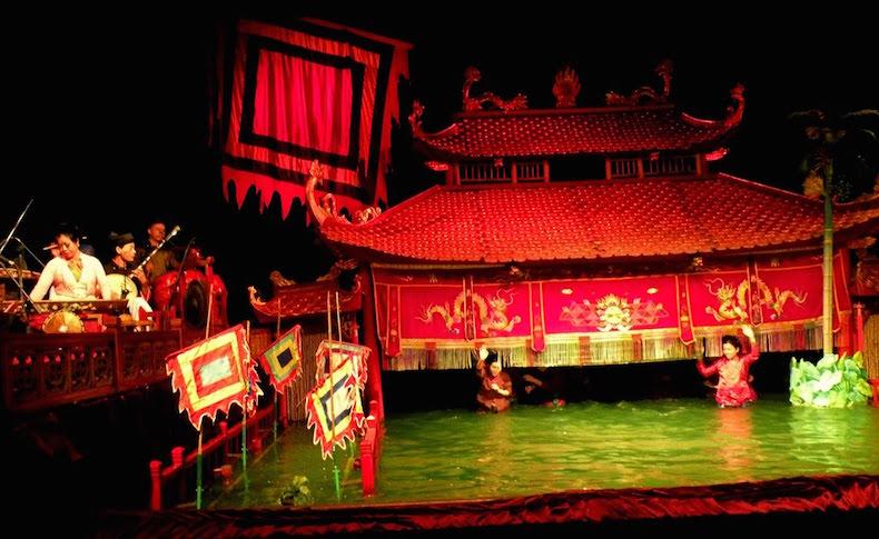 театр водных кукол, Ханой