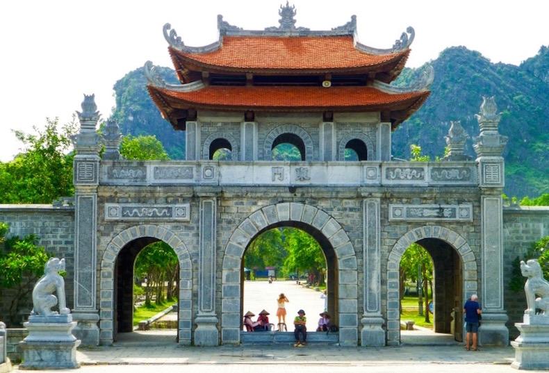 Древняя столица Hoa Lu, храм Dinh