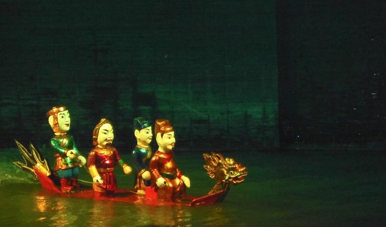 театр водных кукол в Ханое