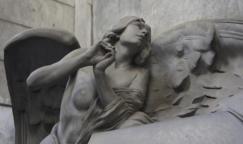 кладбище Стальено в Генуе