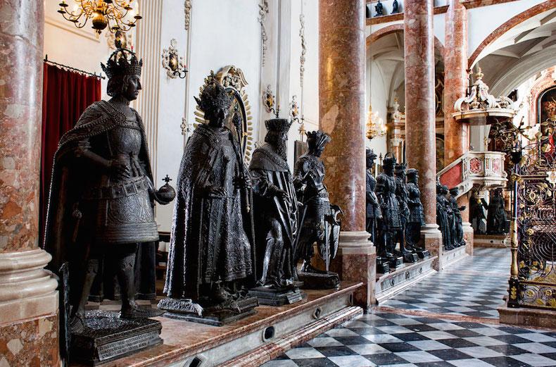 церковь Хофрихе Инсбрук