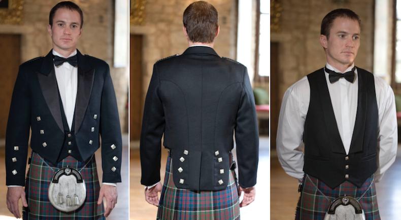 шотландский пиджак принца Чарли