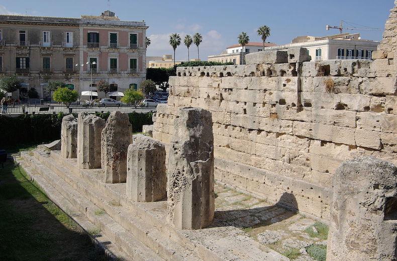 храм Аполлона в Сиракузе
