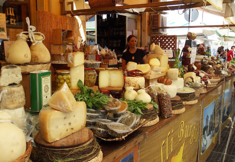рынок Сиракуза Италия Сицилия