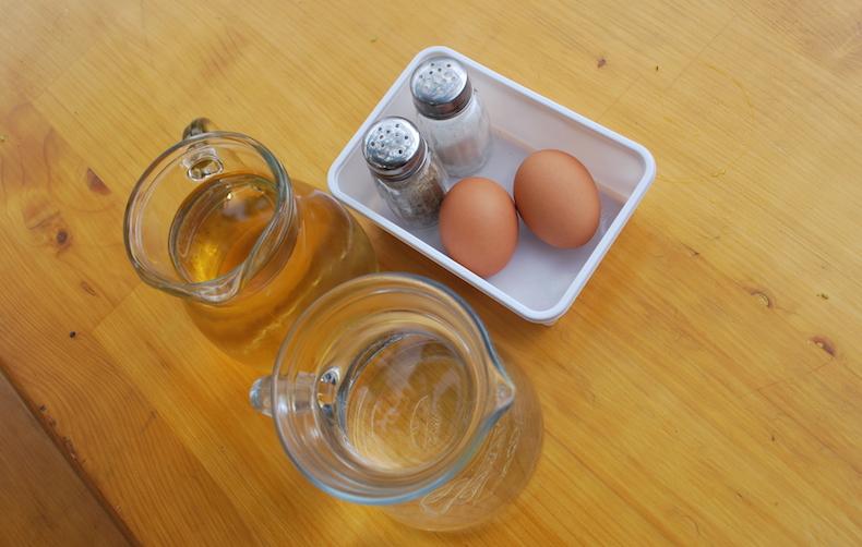 яйца и вино