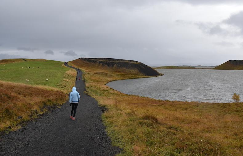 Скутустадир (Skútustaðir) озеро Миватн Исландия