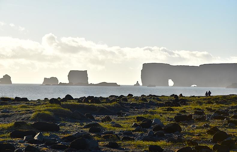 черные пляжи Вик Исландия