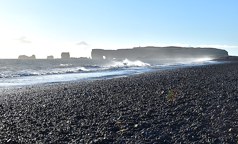 Reynisfjara, пляжи Вик, Исландия, море, океан