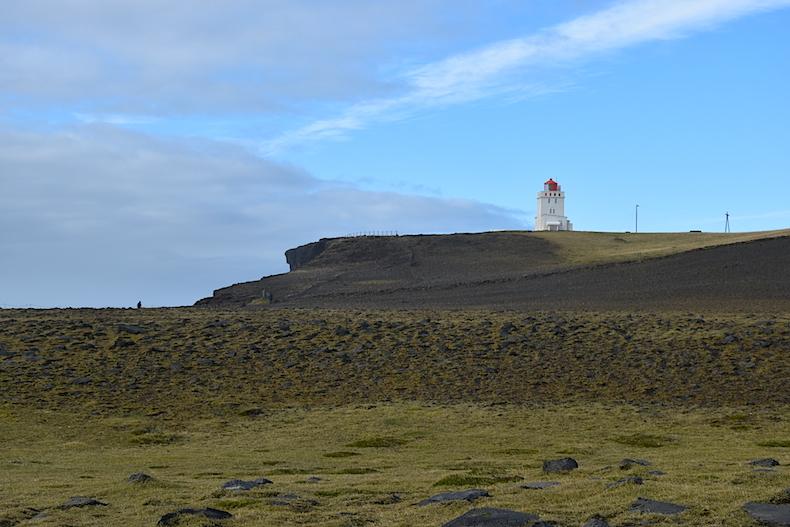 маяк, Исландия, деревня Вик