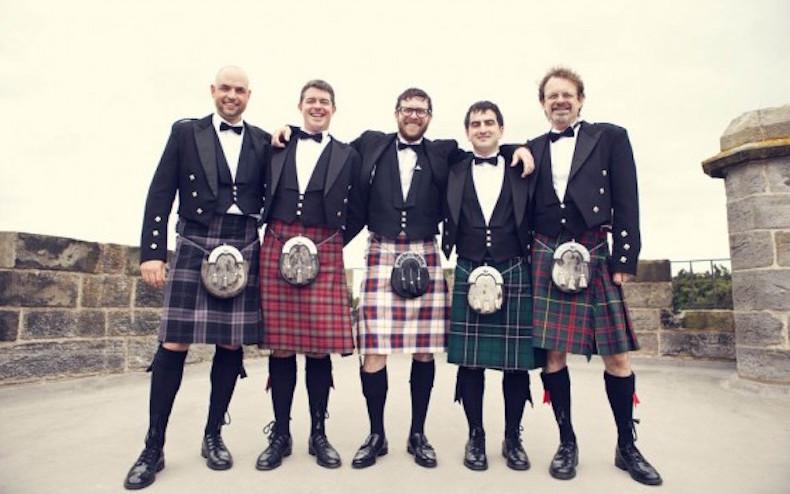 малый шотландский килт