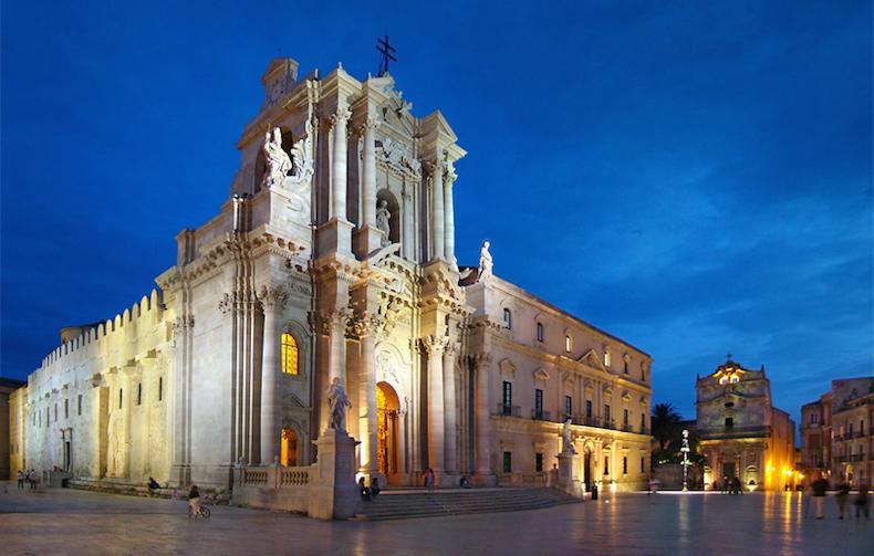 кафедральный собор Сиракуз