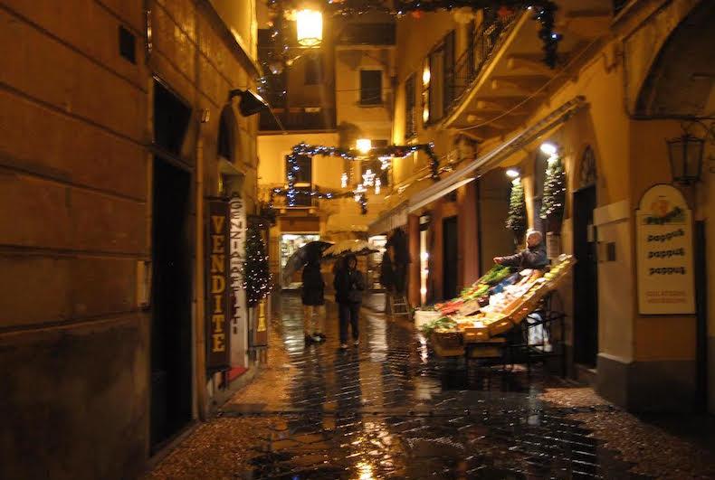 Ноли в дождливое Рождество