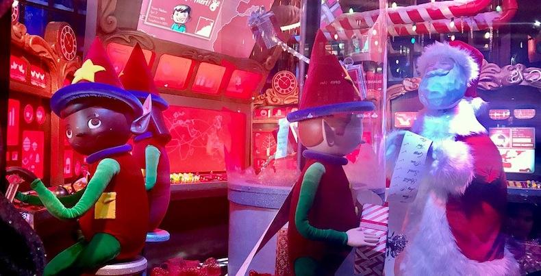 рождественские витрины Macys 2016