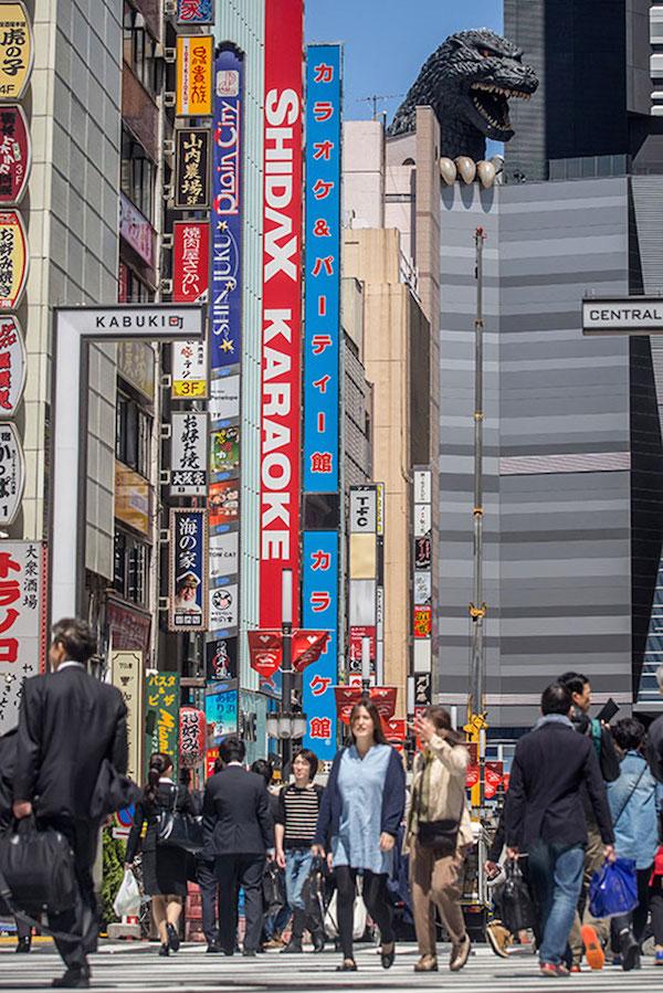 годзилла в Токио