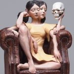Глитч арт: многоликие статуи Йошитоши Канемаки
