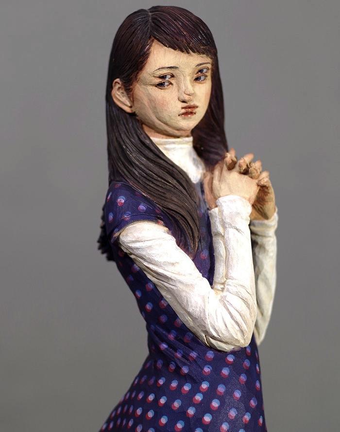 скульптура Йошитоши Канемаки