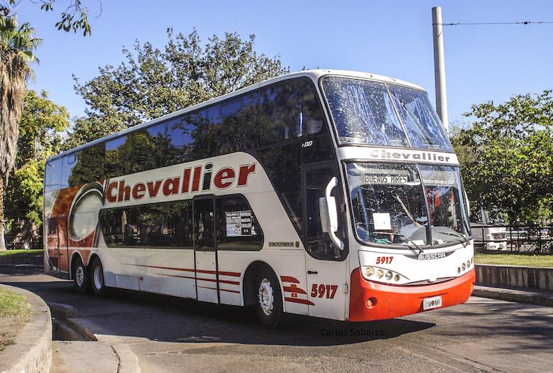 Сhevallier - один из лидеров рынка по автобусным перевозкам в Аргентине