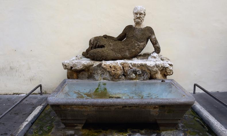 ИЛЬ БАББУИНО (lL BABBUINO) fontana_del_babbuino_rome