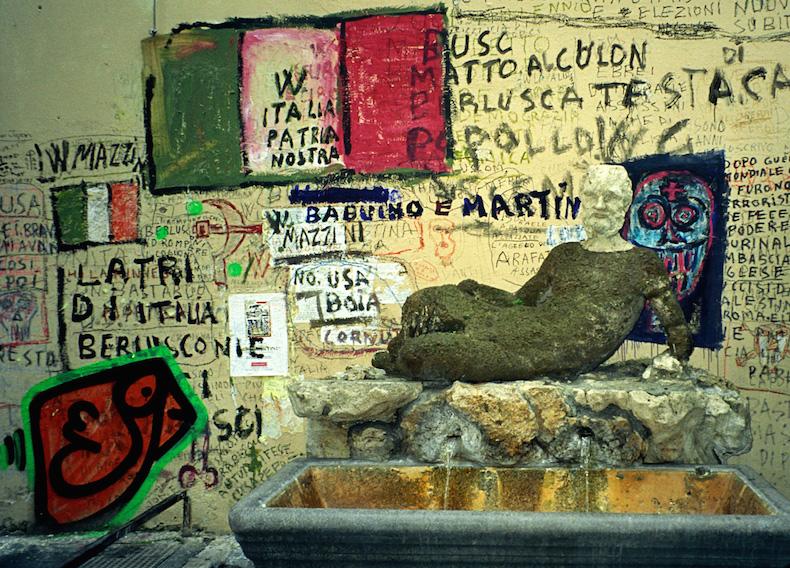 статуя Бабуина до реставрации