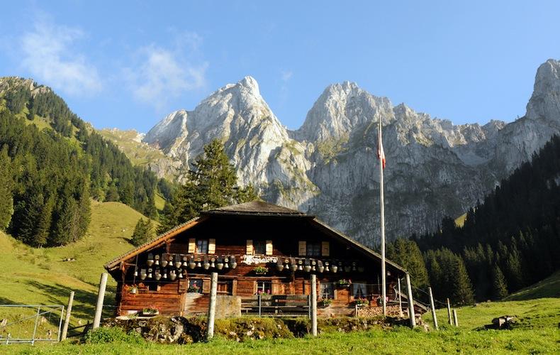 Альпийская ферма Швейцария