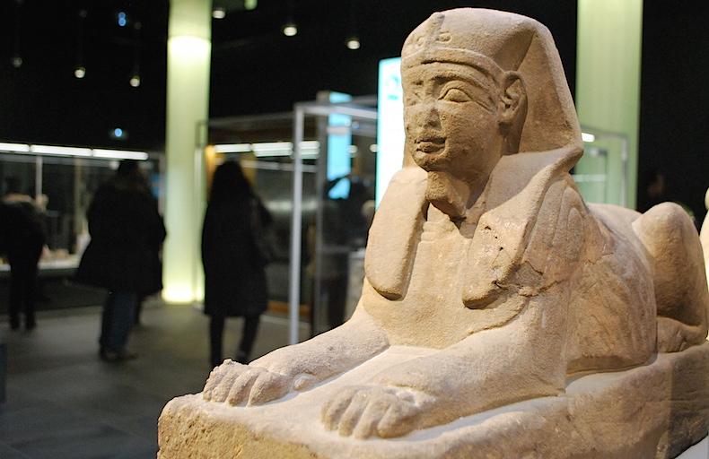 сфинкс, египетский музей турина