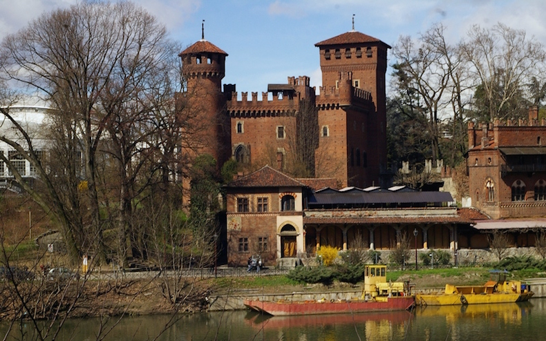 Средневековый городок в парке Святого Валентина, Турин