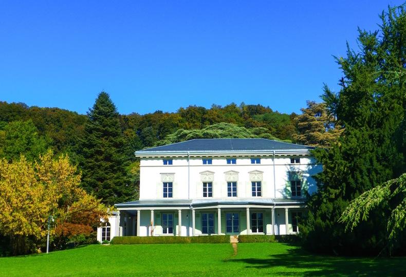 Дом Чарли Чаплина в Швейцарии