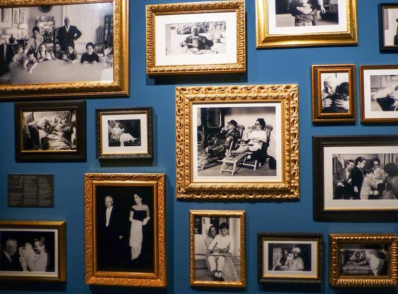 Фотографии семьи Чаплина в доме-музее