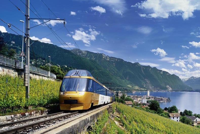 Панорамные поезда Швейцарии: «Золотой перевал», «Шоколадный» и «Сырный»