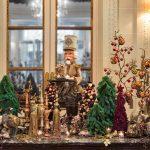 Рождественский декор парижских отелей Four Seasons George V, Le Bristol Paris и La Réserve Hotel