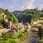 Что еще посмотреть в швейцарском кантоне Фрибург помимо деревушки Грюйер
