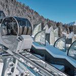 Tschuggen Grand Hotel– дизайнерский отель в швейцарских Альпах с футуристическим спа